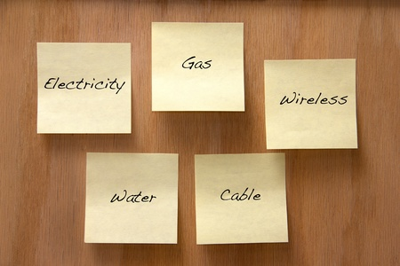 Common home utilities Stock Photo - 13082448
