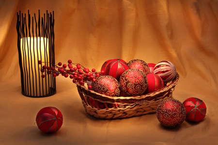Traditionele kerst decoraties en ornamenten