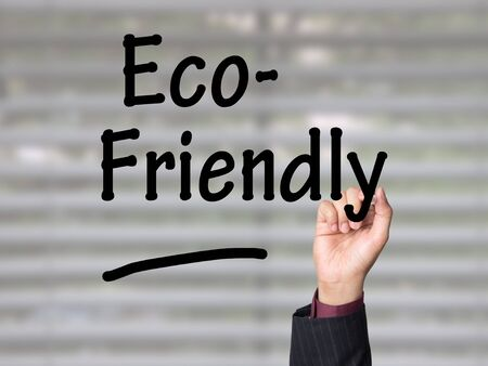 Business presentation on environment and eco-friendly practices