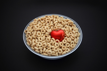 heart healthy breakfast cereal with fiber