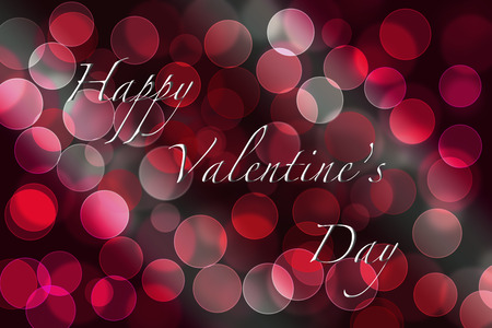 Valentine day greeting card background