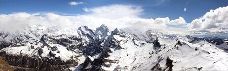 Panorama van de Alpen van Schiltorn in Zwitserland