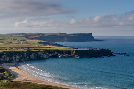 the bay: Whitepark Bay, Northern Ireland Stock Photo