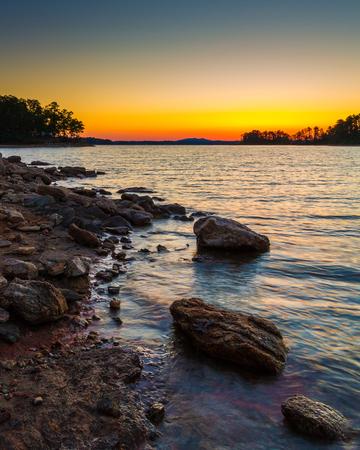Sunset Van Pugh Park Lake Lanier Georgia