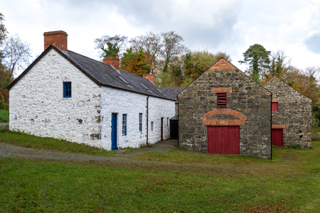 northern ireland: Old Mill in Northern Ireland Stock Photo