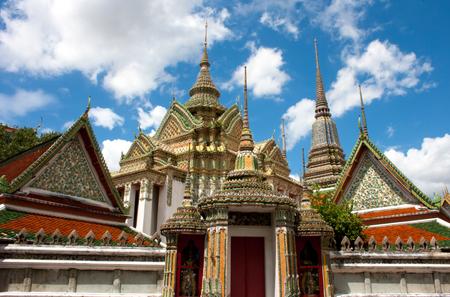 Temple in Bangkok Wat Pho, Thailand  Foto de archivo