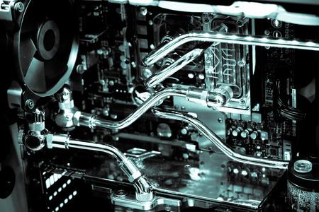 Inside the computer case modify 写真素材