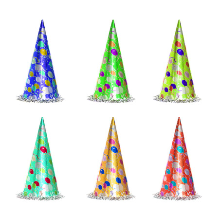 New year celebration Party items 写真素材