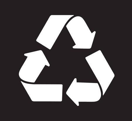 reciclar: Recicle el verde del icono del vector