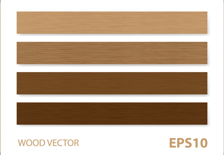 panels: Wood vector background.
