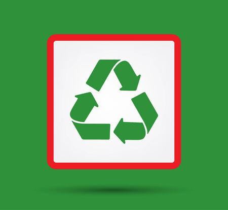 recycle logo: Green Recycle logo vector