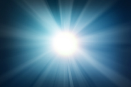 Abstract light blue blured background Stock Photo