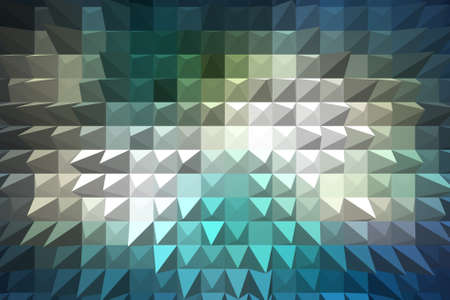 extrusion: Blue extrude geometric abstract background Stock Photo