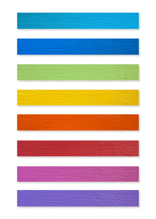 plotting: Colorful of Plastic wood collection