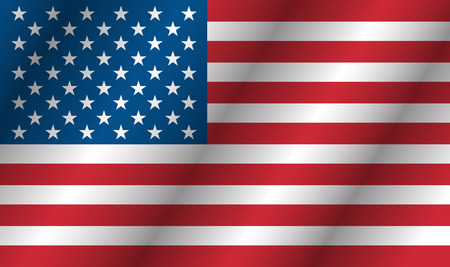 united states flag: American flag waving