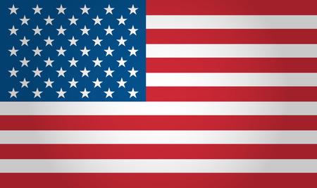 spojené státy americké: Americká vlajka na pozadí