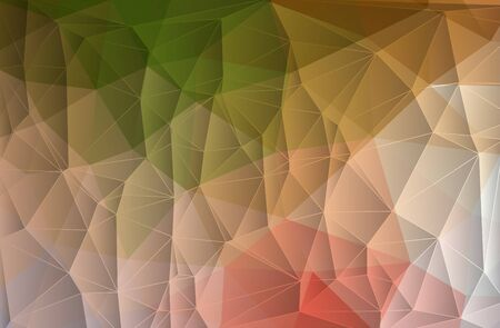 Abstract modern geometric background consists of triangles