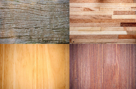 wenge: Collage of high-detailed wood textures background