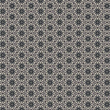 布やタイル パターン デザインのイラスト。インテリア デザイン壁紙のこのパターンを使用することができます。