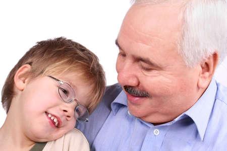 grand son: My grandfather