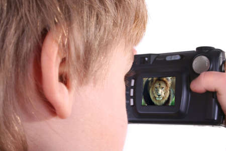 Young photographer Stock Photo - 327759