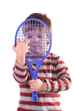 Little Tennis Player Stock Photo - 327764