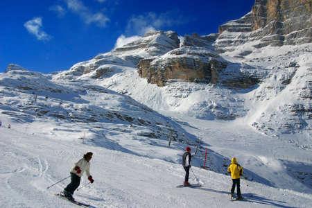 froze: the ski area
