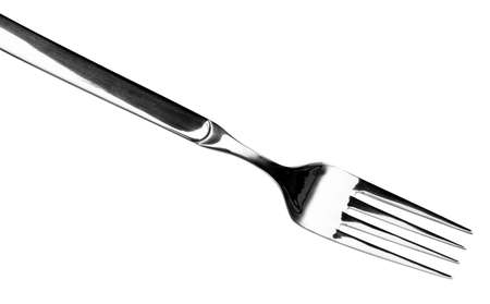 silver fork Standard-Bild