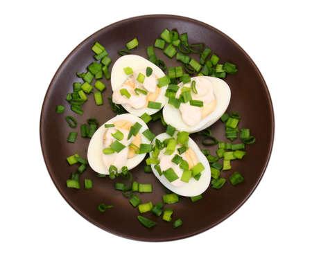 preperation: boiled egg