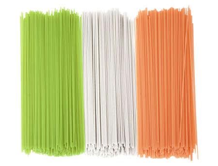 Flag of Italy - spaghetti