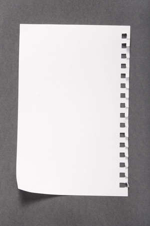 blank note Standard-Bild