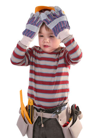 young construction worker Stock Photo - 757138