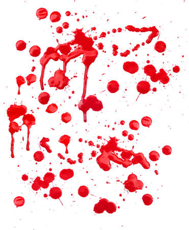 blood drop: Red drops Stock Photo
