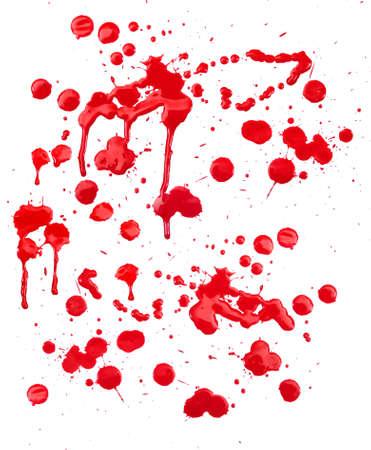 Red drops Standard-Bild