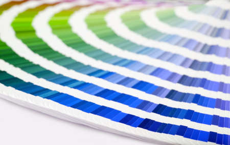 Color guide to match colors for printing Stock Photo - 1236806