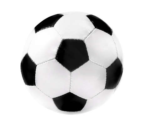 Soccer ball, isolated on white background Stock Photo - 3075627