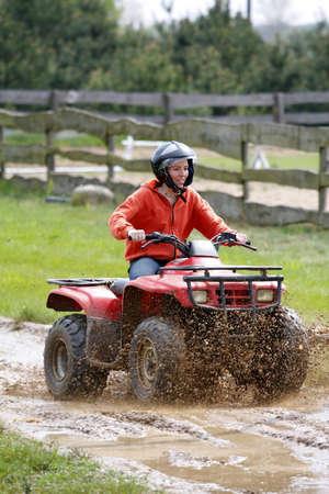 girl in quad photo
