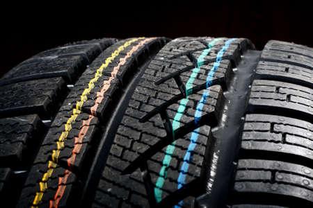 New winter tire photo