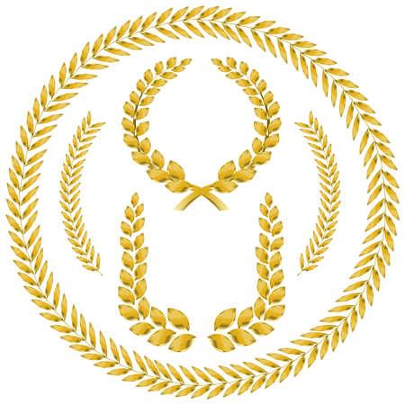 Laurel wreath   Standard-Bild