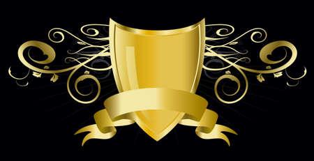 golden shield Stock Photo - 3816170