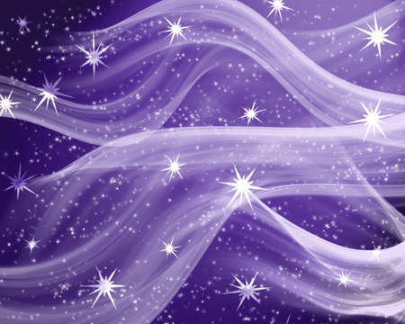 Illustration with stars   Stock Illustration - 3816367
