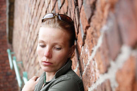 Sad Woman Stock Photo - 3816024