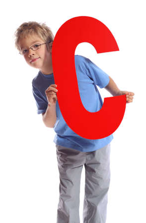 c: Letter C boy - See all letters in my Portfolio