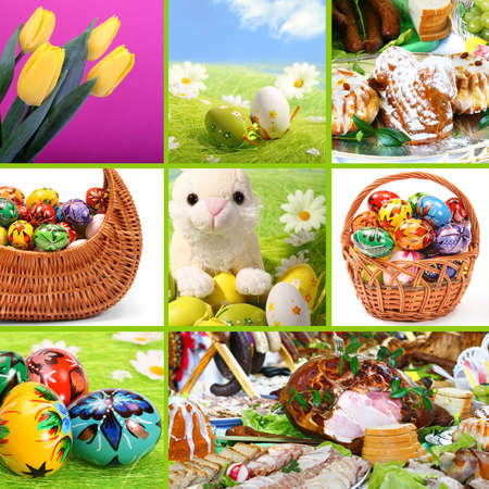 Traditional Easter - themed collage. See similar images in my Portfolio Stock Photo - 6084352