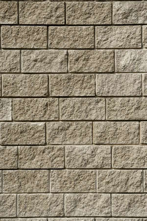 Close up of stone wall texture background photo