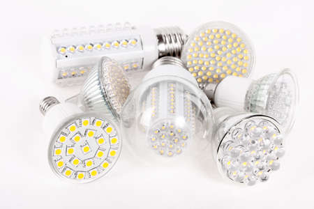 New Led Light isolated on white background