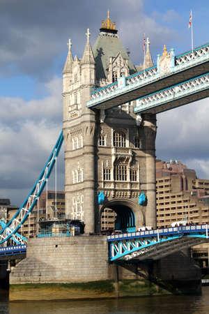 Evening view of Tower Bridge, London, UK