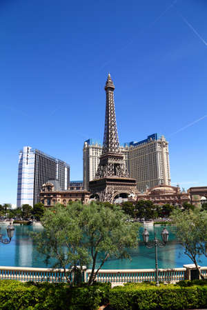 Paris Las Vegas hotel and Casino featured with the theme of Paris in France on March 4, 2010 in Las Vegas, Nevada