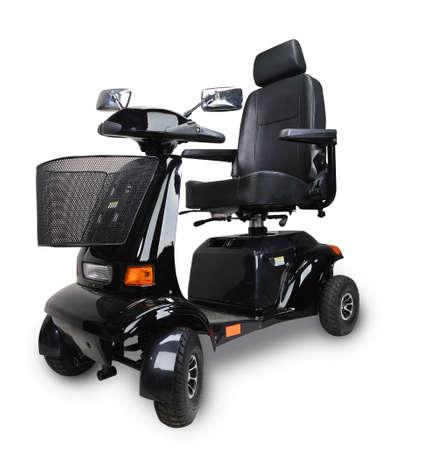 Wheelchair isolated over white background  Standard-Bild