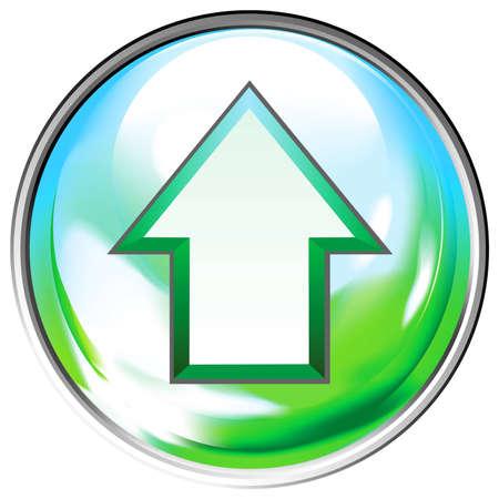 Button arrow   Illustration
